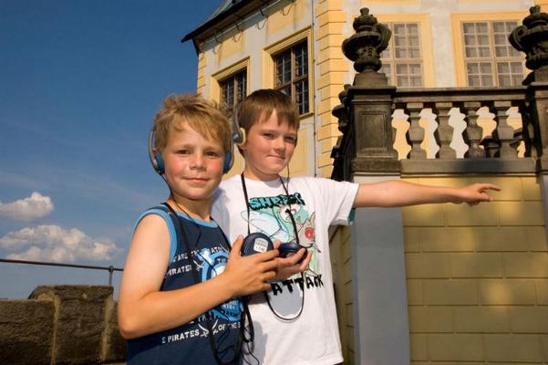 Der Kinder-Audioguide © Peter Mauksch » Grafik-Design, Dresden