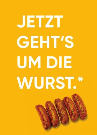 Thema Ernährung – Logo Wurst © Sukuma arts e.V.