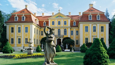 Barockschloss Rammenau © Manfred Lohse / Schlösserland Sachsen