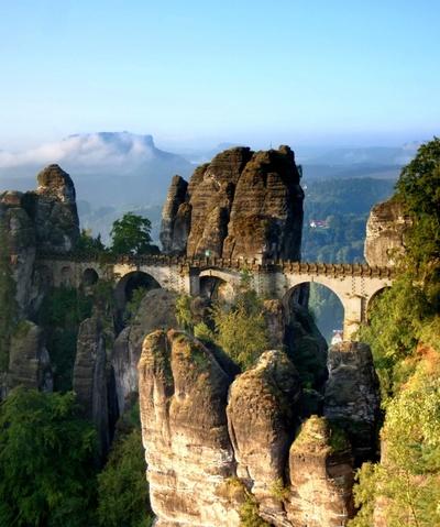 BasteibrückeFoto: Je-str - Wikimedia