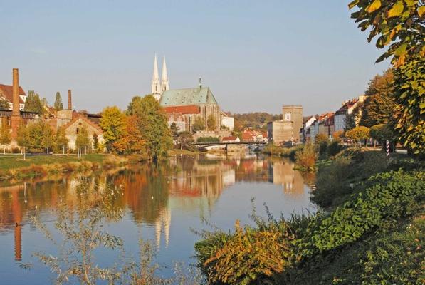Der Oder-Neiße-Radweg führt durch die Europastadt Görlitz. Foto: Europastadt Görlitz Zgorzelec GmbH