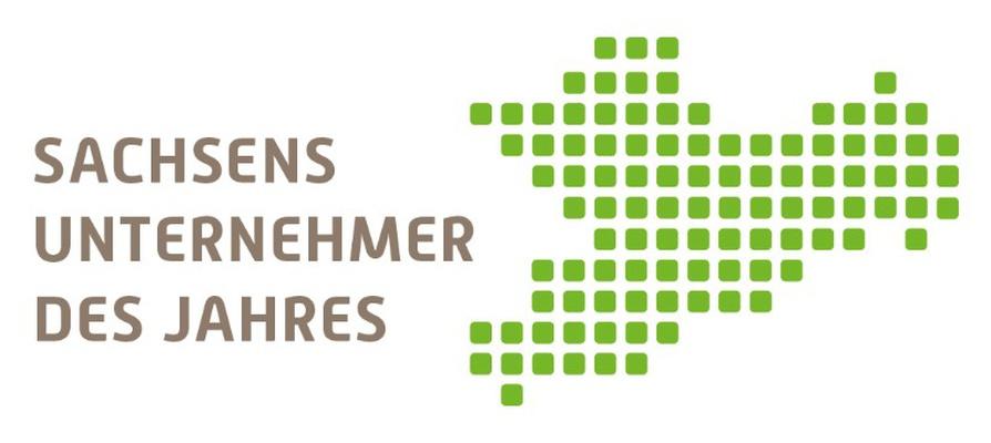 """Logo zum Wettbewerb """"Sachsens Unternehmer des Jahres"""""""