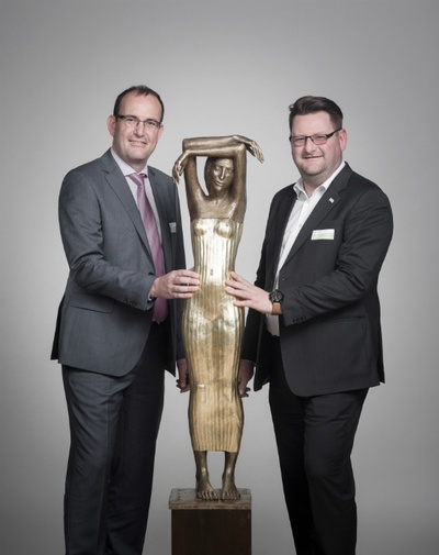 Jörn und Daniel Meyer, MEYER DREHTECHNIK GmbHFoto: Ronald Bonß