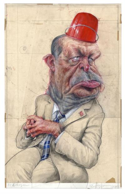 "Siegerkarikatur ""Erdogan"" von Frank Hoppmann"