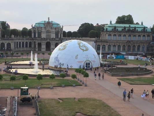 Zwinger zur Museumsnacht Dresden 2019 / Foto: Dana Lange
