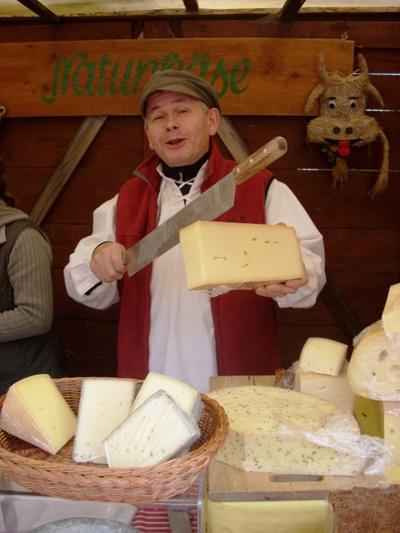 Käsemarkt Altzella © Kulturhof Zickra