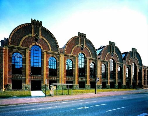 Fassade IndustriemuseumFoto: Dietmar Träupmann, Archiv Industriemuseum Chemnitz