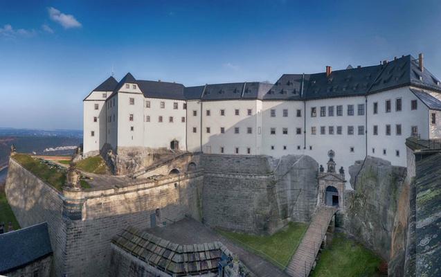 Festung Königstein Westbebauung © Bernd Walther/Festung Königstein gGmbH