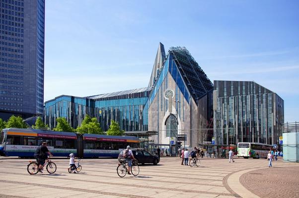 Die Standorte der Leipziger Uni sind weit verstreut. Umso wichtiger ist bei der Wohnungssuche eine gute Anbindung an den öffentlichen Nahverkehr