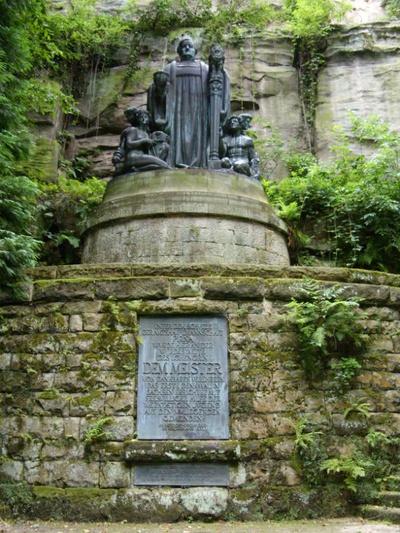 Wagner-Denkmal Liebethaler Grund © Tourismusverband Sächsische Schweiz e.V.