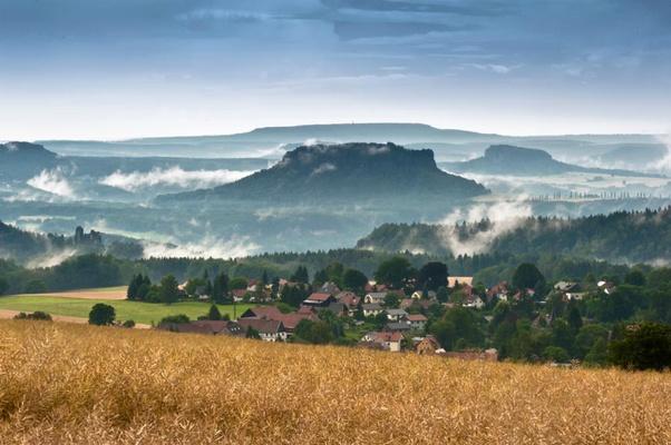 Sächsische Schweiz - Hohburkersdorfer Rundblick - Foto Sebastian Thiel