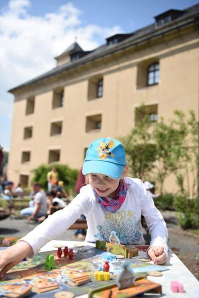 Auf der Festung Königstein können mehr als  100 Spiele ausprobiert werden. Foto: Festung Königstein gGmbH