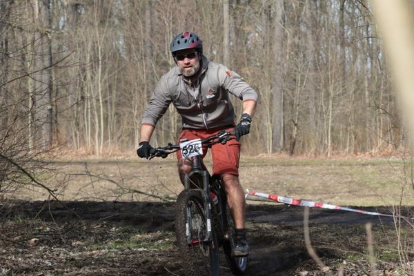 Radfahrer beim Bike & Run © larasch