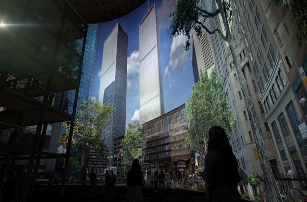 Visualisierung asisi Panorama NEW YORK 9/11 © asisi