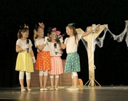 Theatergruppe Kinderkunstpreis 2016 / Foto: PR