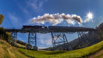 Erzgebirgische Aussichtsbahn / © Tourismusverband Erzgebirge e.V./ Uwe Meinhold