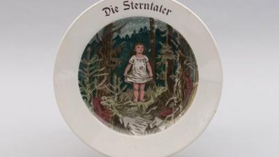 Kinderteller um 1920, Foto: Stadtmuseum Dresden