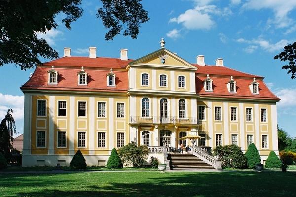 Barockschloss RammenauSchlösserland Sachsen