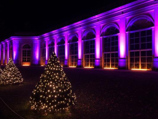 Orangerie im Weihnachtslicht / Foto: privat