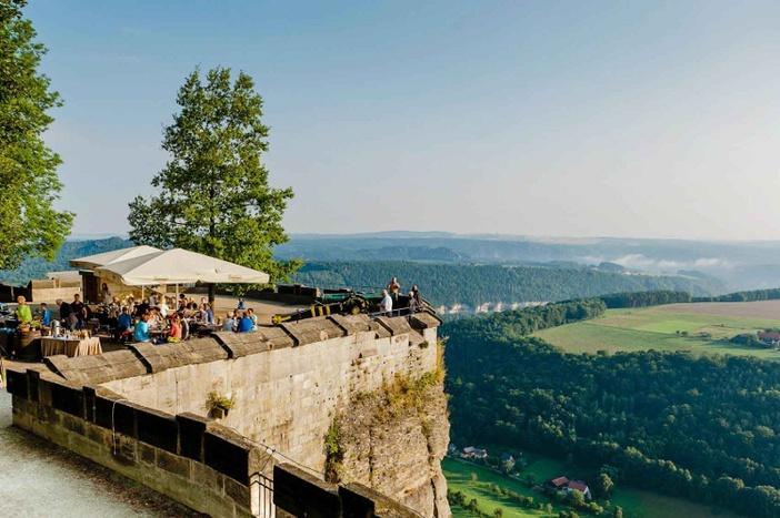 Morgenpicknick Festung KönigsteinFoto Matthias Hultsch