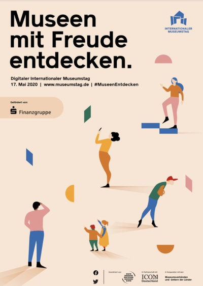 Plakat #MuseenEndecken © Deutscher Museumsbund e.V.