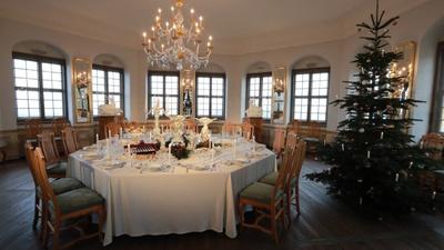 Tisch- und Esskultur des Sächsischen Hofes in der Friedrichsburg / Foto: Marko Förster