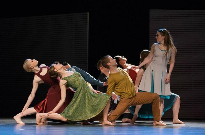 Tanzcompagnie der Landesbühnen Sachsen / Foto: Hagen König