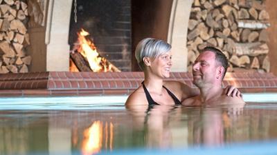 Auszeit im Wellnesshotel Seeschlößchen am Senftenberger See. Foto: Tourismusverband Lausitzer Seenland, Nada Quenzel