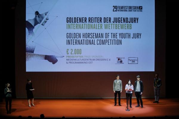 Preisverleihung Filmfest 2017 am 08.04.2017 im Kleinen Haus in Dresden. Foto: Oliver Killig