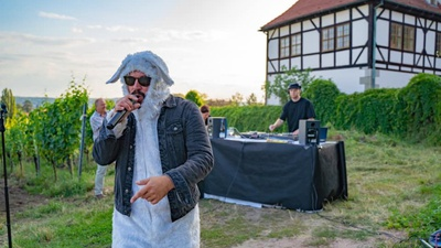 Rapper Alphonzo bei den Visit Dresden Sommerkonzertwochen. Foto © Authentik Fotografie