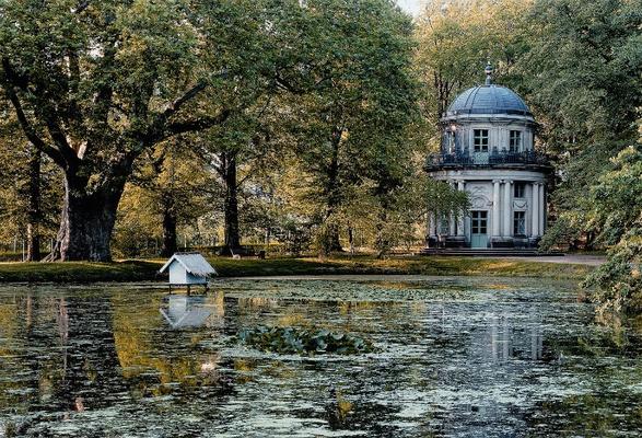 Schloss Pillnitz - englischer Pavillon / © Schlösserland Sachsen