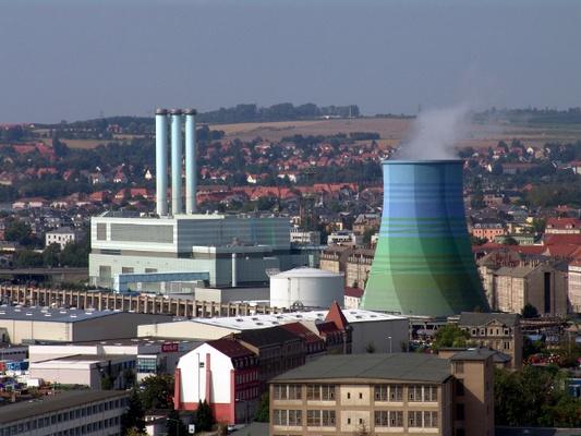 Heizkraftwerk Nossener Brücke / Quelle: DREWAG
