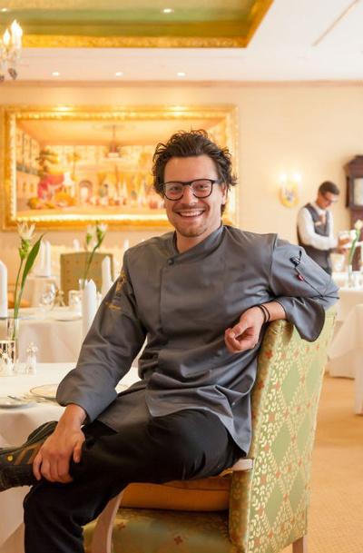 Benjamin Biedlingmaier will junge Genießer für die hohe Kochkunst begeistern. © Klaus Lorke No Limit Fotodesign