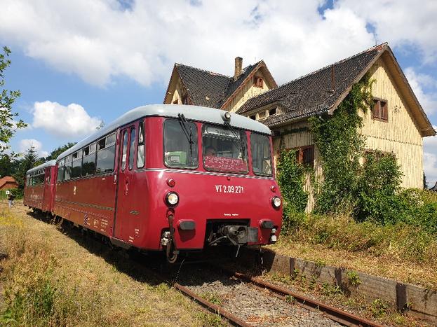Ferkeltaxe © IG Schienenverkehr Ostfriesland e.V.