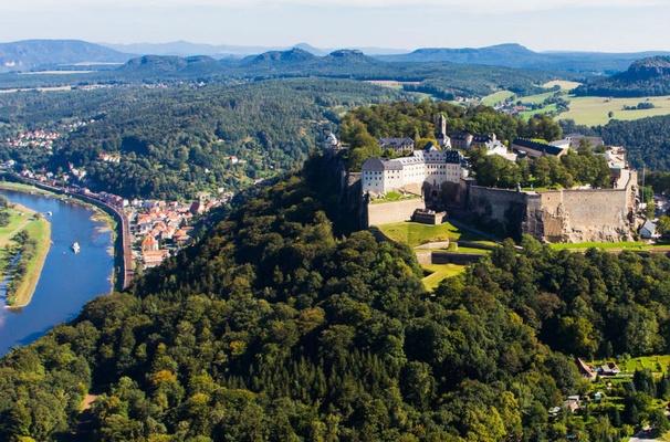 Festung Koenigstein - Foto Frank Lochau - Procopter
