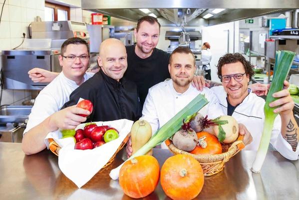 v.l.n.r. Marcus Langer, Stephan Mießner, Marcus Blonkowski, Marcel Kube, Benjamin Biedlingmaier / Foto: Thomas Türpe