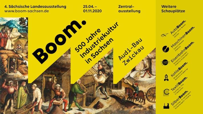 Plakatmotiv der 4. Sächsischen Landesausstellung © polyform. planen und gestalten Götzelmann Middel GbR