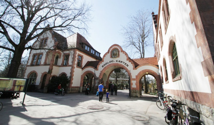 Historischer Eingangsbereich © Zoo Leipzig