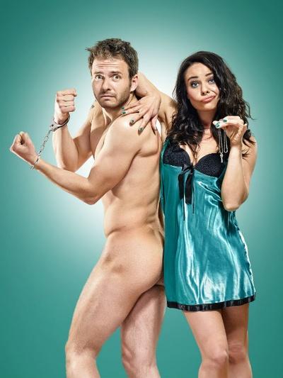 """Die Telenovela-Stars Maja Maneiro und Jacob Weigert in """"Am Morgen danach""""Foto: Chris Gonz"""