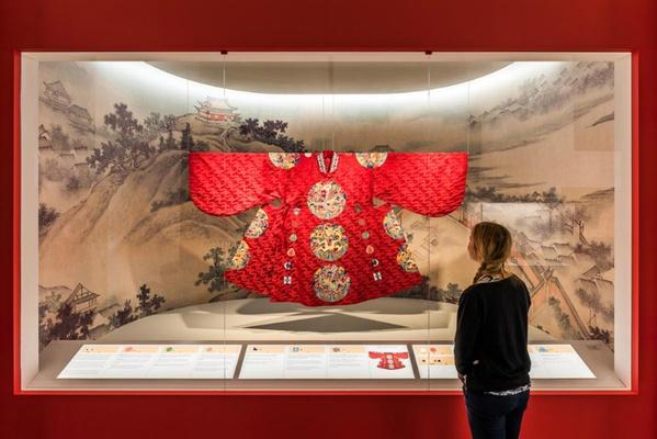 Festgewand des Kaisers / Foto: Sebastian Thiel