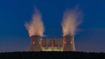 Kraftwerk Schwarze Pumpe, Foto: Tourismusverband Lausitzer Seenland, Kathrin Winkler