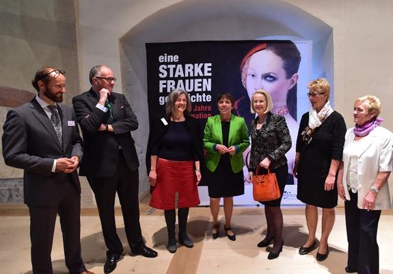 Eröffnung der Sonderausstellung auf Schloss RochlitzSchlösserland Sachsen