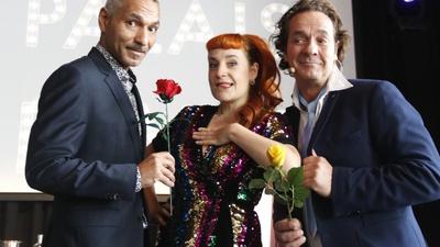 Sie buhlen um die Gunst von Fräulein Clara, Botschafter der Liebe Rashid Daniel Sidgi und der magische Junggeselle Milko Bräuer