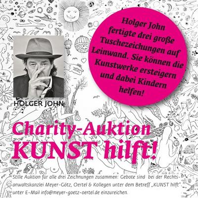 "Charity-Auktion ""KUNST hilft!"""