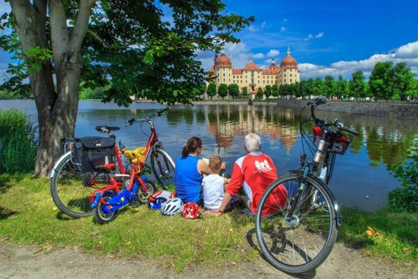Schloss Moritzburg - Foto Rainer Weisflog - Tourismusverband Saechsisches Elbland