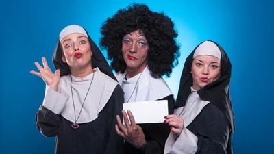 Rainer König als Nonne / Foto: PR