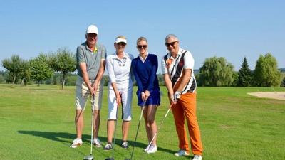 Golfspieler beim Golf & Gourmet Cup 2015 - Foto Hotel Bülow Palais