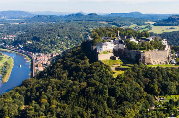 Festung Königstein - Foto Frank Lochau - Procopter