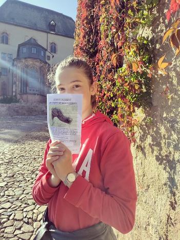 Schülerpraktikantin Lily   Schloss Rochlitz – Antje Krahnstöver