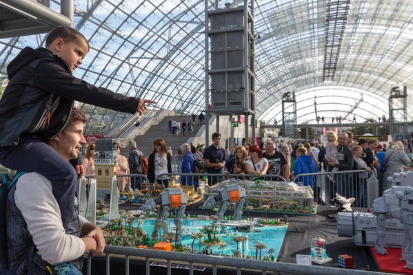 LEGO-Ausstellung von LBrick in der Glashalle; Foto: Leipziger Messe / Tom Schulze